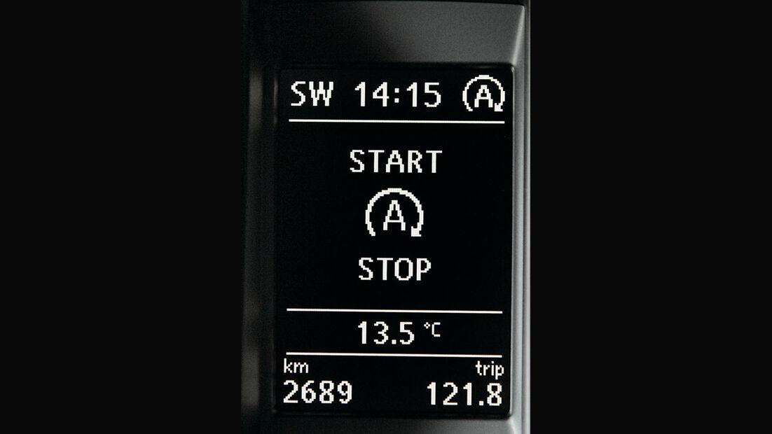 VW Golf, Start-Stopp System