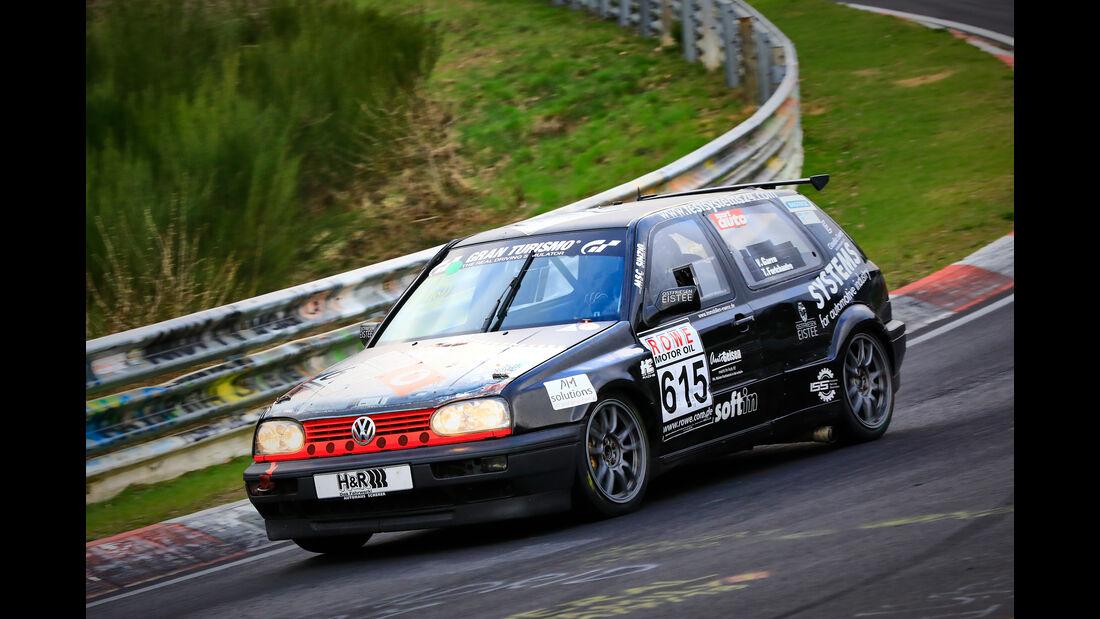 VW Golf - Startnummer #615 - MSC Sinzig e.V. im ADAC - H2 - VLN 2019 - Langstreckenmeisterschaft - Nürburgring - Nordschleife