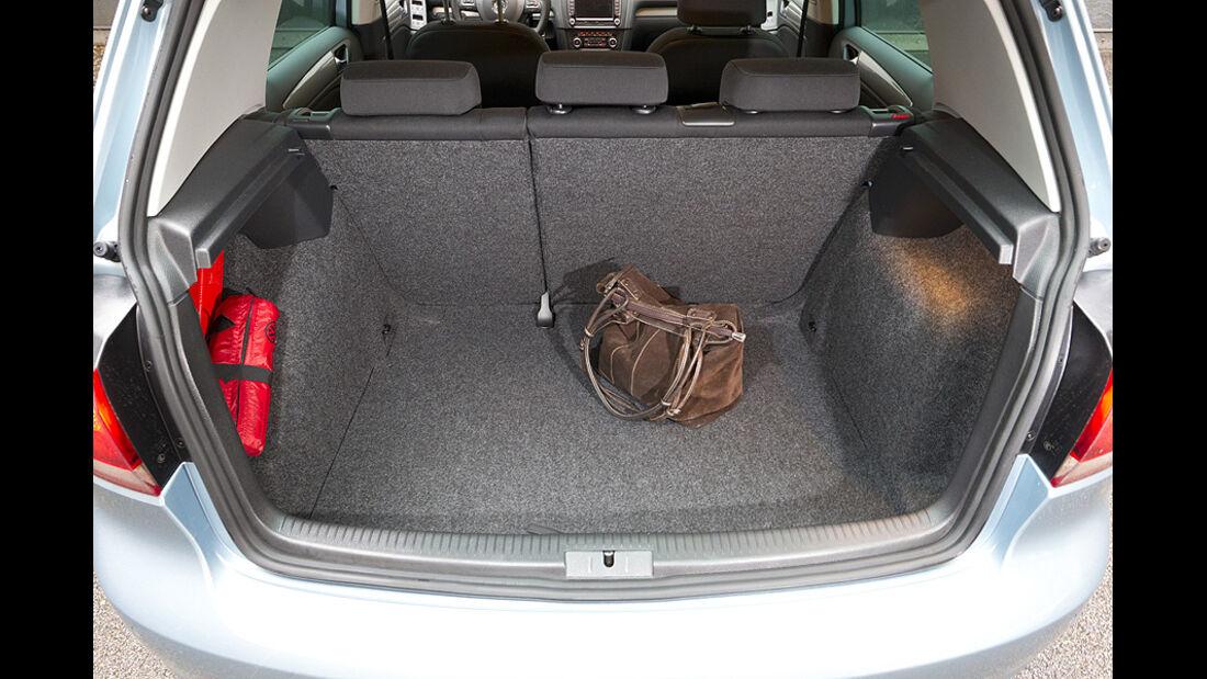 VW Golf TDI Blue Motion Kofferraum