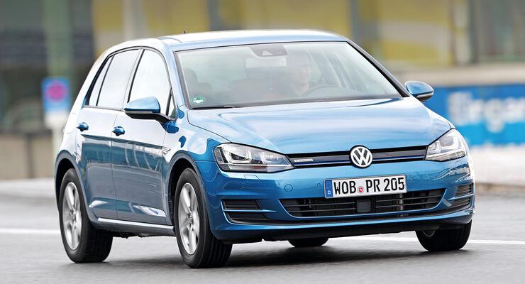 VW Golf TGI Blue Motion, Frontansicht
