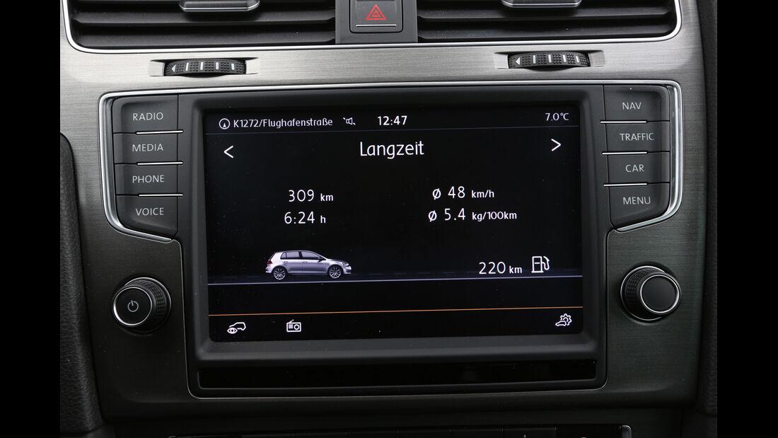 VW Golf TGI Blue Motion, Navi, Infotainment