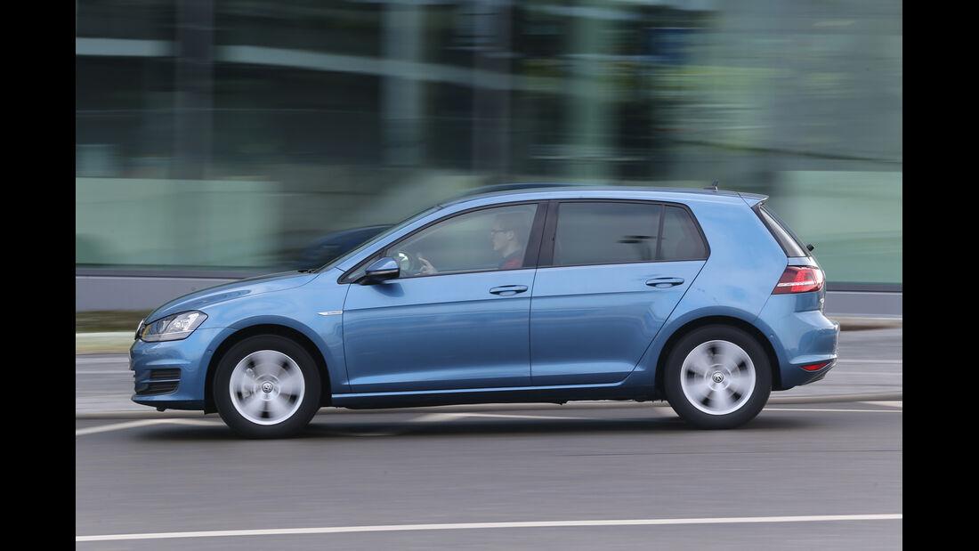 VW Golf TGI Blue Motion, Seitenansicht