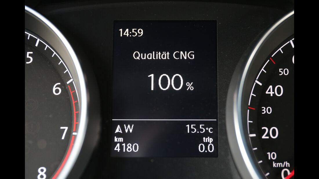 VW Golf TGI, Interieur