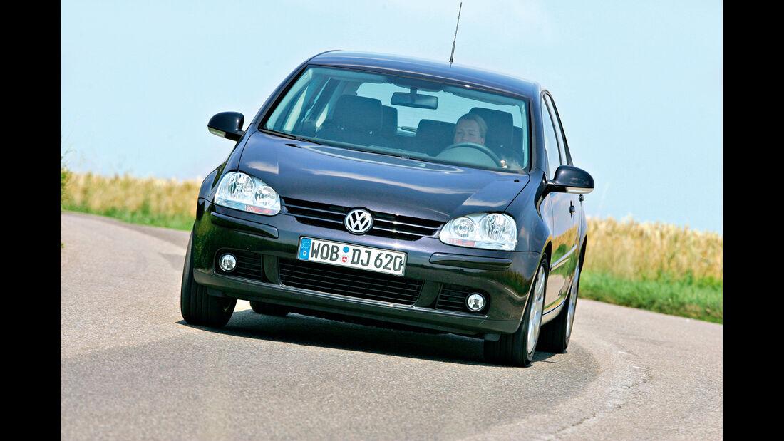 VW Golf V, Frontansicht