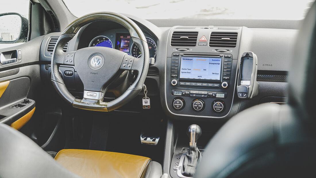 VW Golf V R32, Interieur