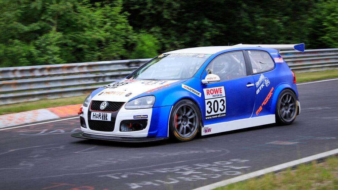 VW Golf V - Startnummer #303 - SP3T - NLS 2020 - Langstreckenmeisterschaft - Nürburgring - Nordschleife