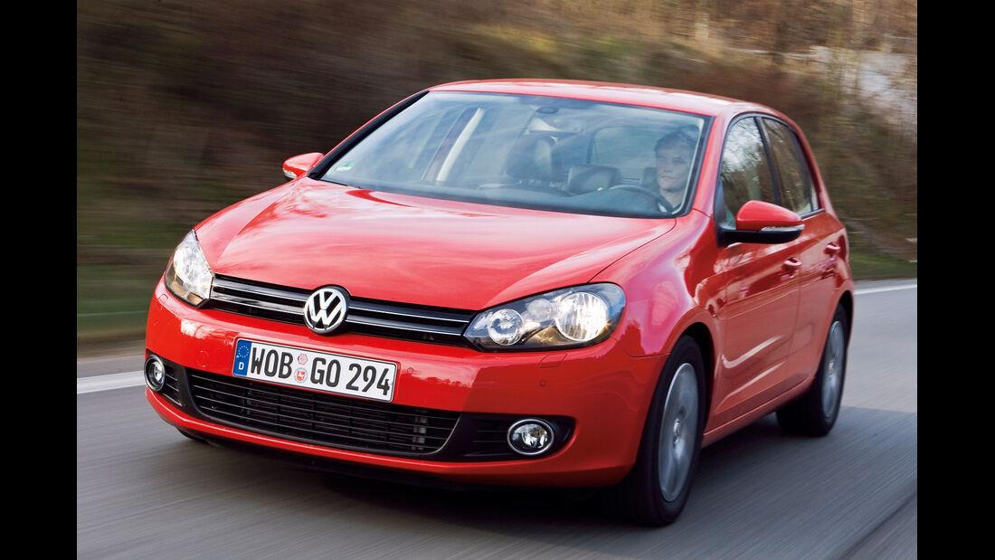VW Golf VI, Frontansicht