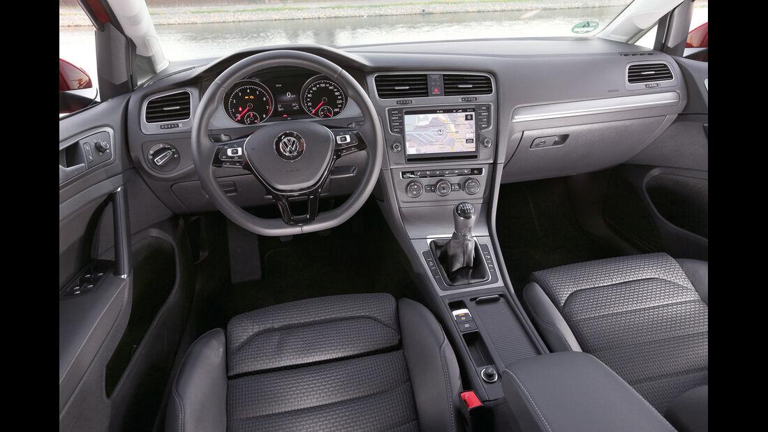 VW Golf VII 1.2 TSI, Cockpit