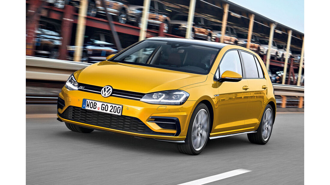 VW Golf VII Facelift (2017) 5-Türer R-Line