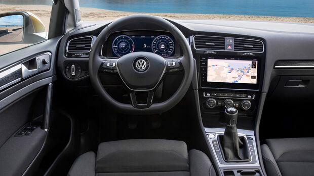 VW Golf VII Facelift 2017 Fahrbericht
