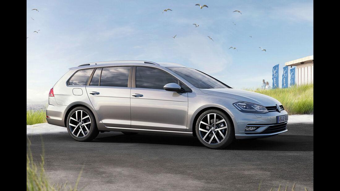 VW Golf VII Facelift (2017) Variant