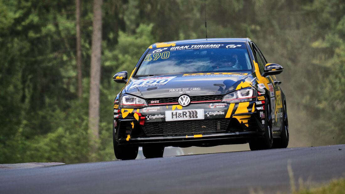 VW Golf VII GTI - Startnummer #490 - GITI TIRE MOTORSPORT BY WS RACING - VT2 - NLS 2020 - Langstreckenmeisterschaft - Nürburgring - Nordschleife