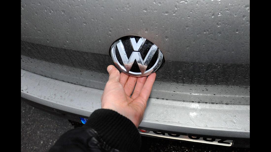 VW Golf VII, Heckklappe