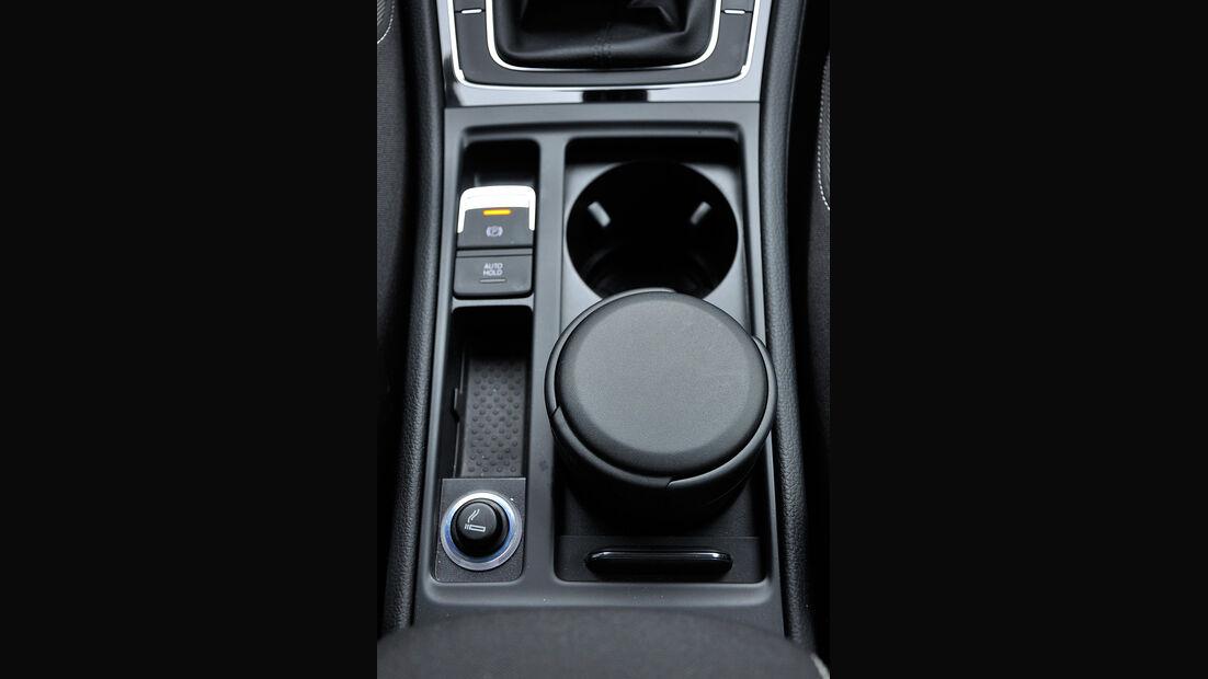 VW Golf VII, Innenraum, Mittelkonsole