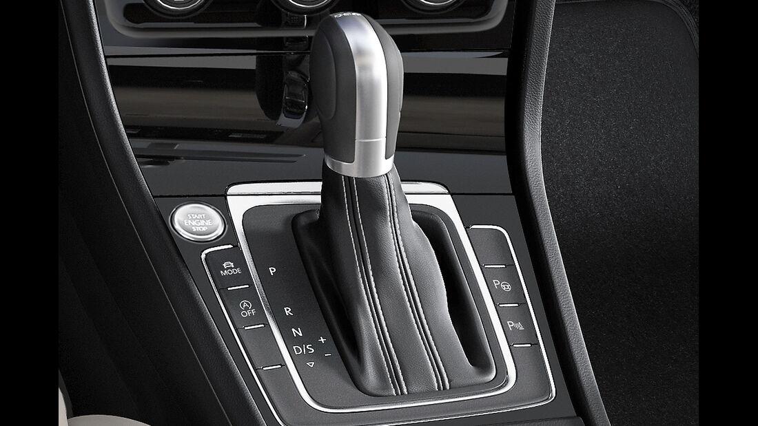 VW Golf VII, Innenraum, Wählhebel