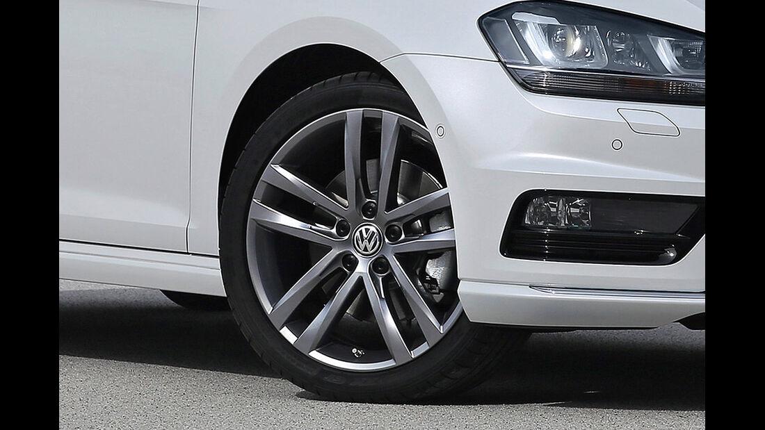 VW Golf VII R-Line, Felge, 2013
