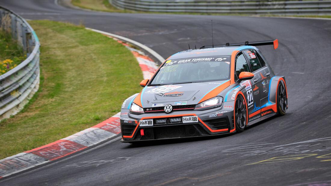 VW Golf VII - Startnummer #322 - MSC Sinzig e.V. im ADAC - SP3T - NLS 2020 - Langstreckenmeisterschaft - Nürburgring - Nordschleife