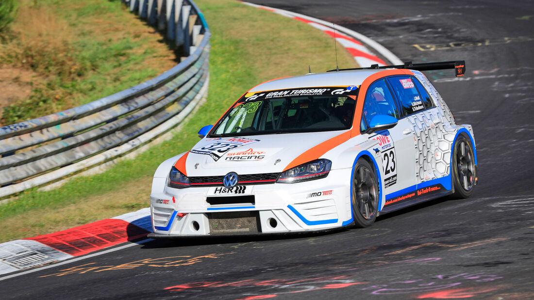 VW Golf VII - Startnummer #323 - MSC Sinzig e.V. im ADAC - SP3T - NLS 2020 - Langstreckenmeisterschaft - Nürburgring - Nordschleife