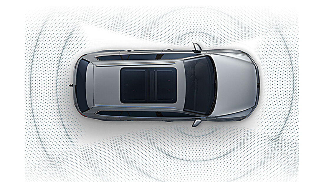 VW Golf VIII, Area View