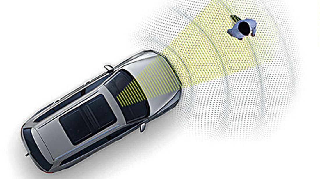VW Golf VIII, Fußgängerassistent
