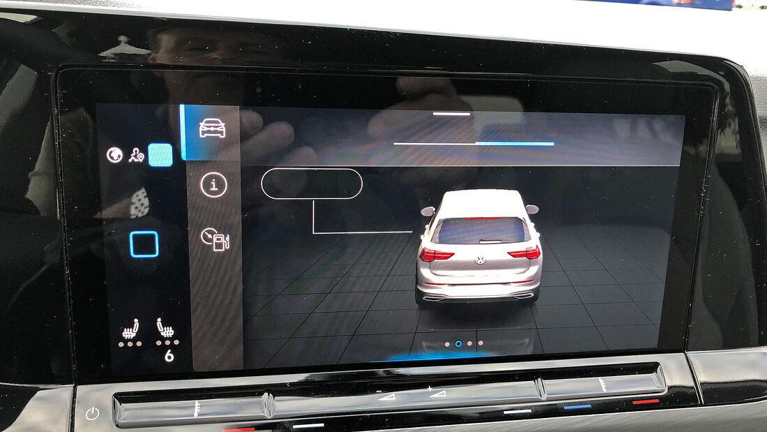 VW Golf VIII Infotainment Bug Software