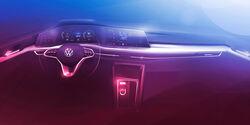VW Golf VIII Teaser