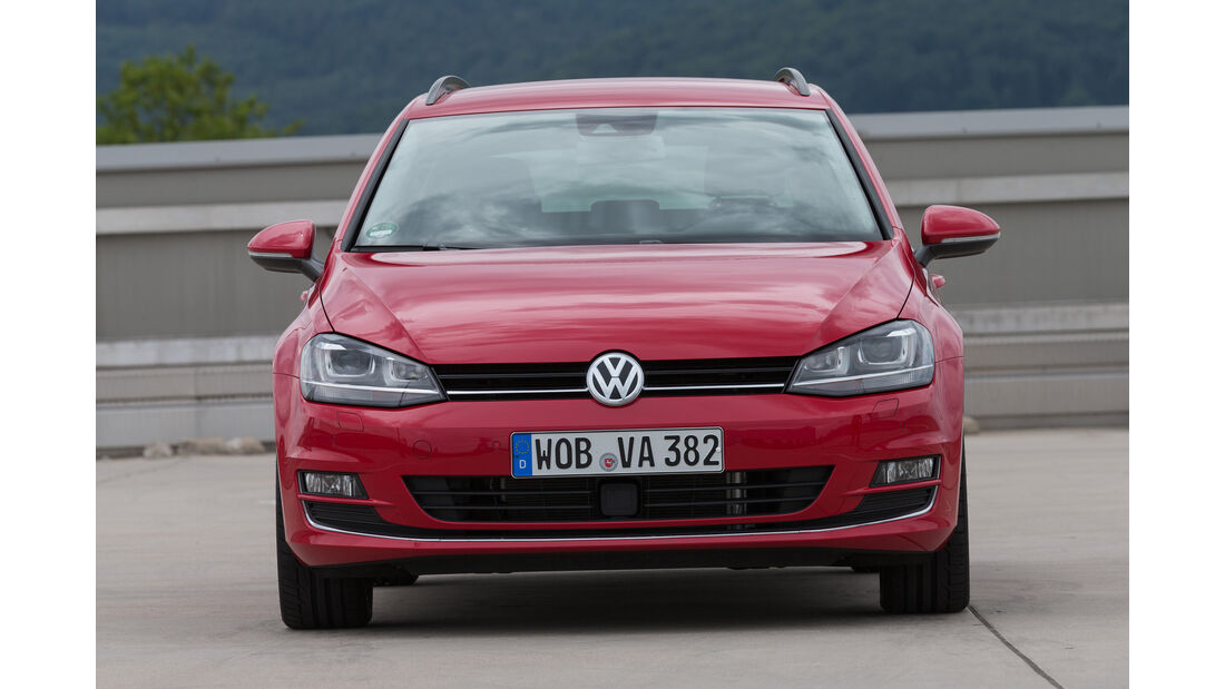 VW Golf Variant 1.4 TSI DSG , Frontansicht