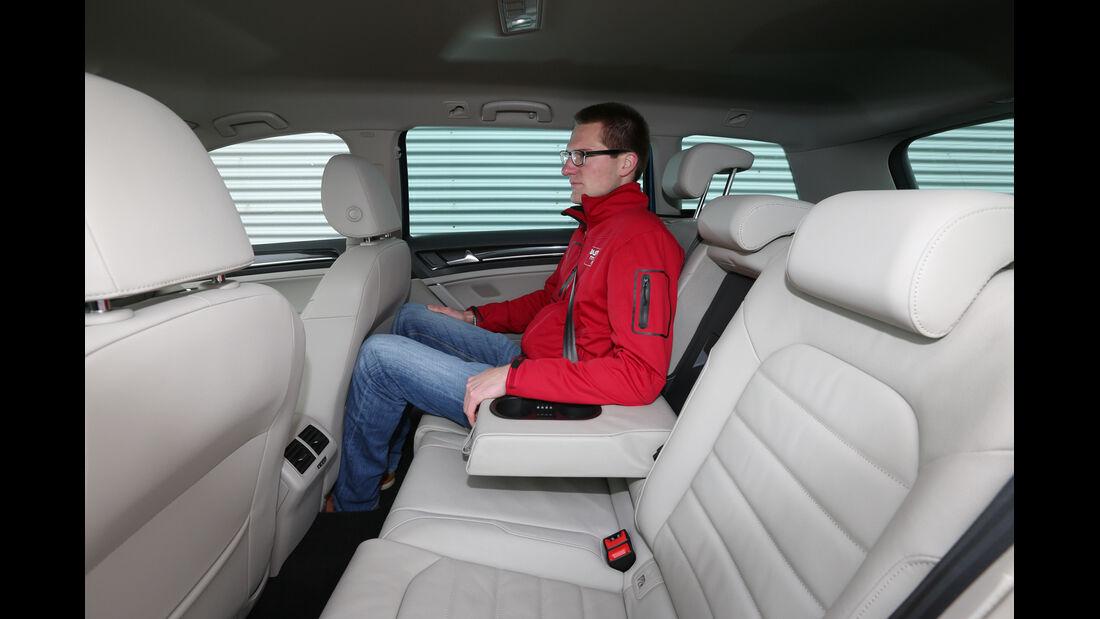 VW Golf Variant 1.4 TSI, Fondsitz, Beinfreiheit