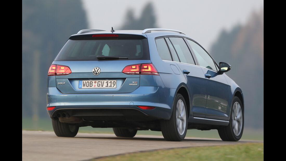 VW Golf Variant 1.4 TSI, Heckansicht
