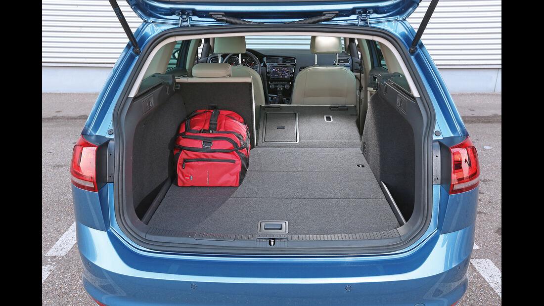 VW Golf Variant 1.4 TSI, Kofferraum, Ladefläche