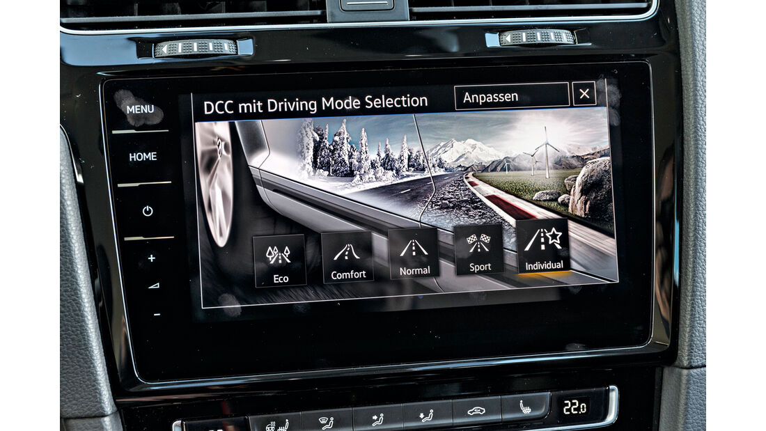 VW Golf Variant 2.0 TDI 4Motion, Bildschirm, Infotainment