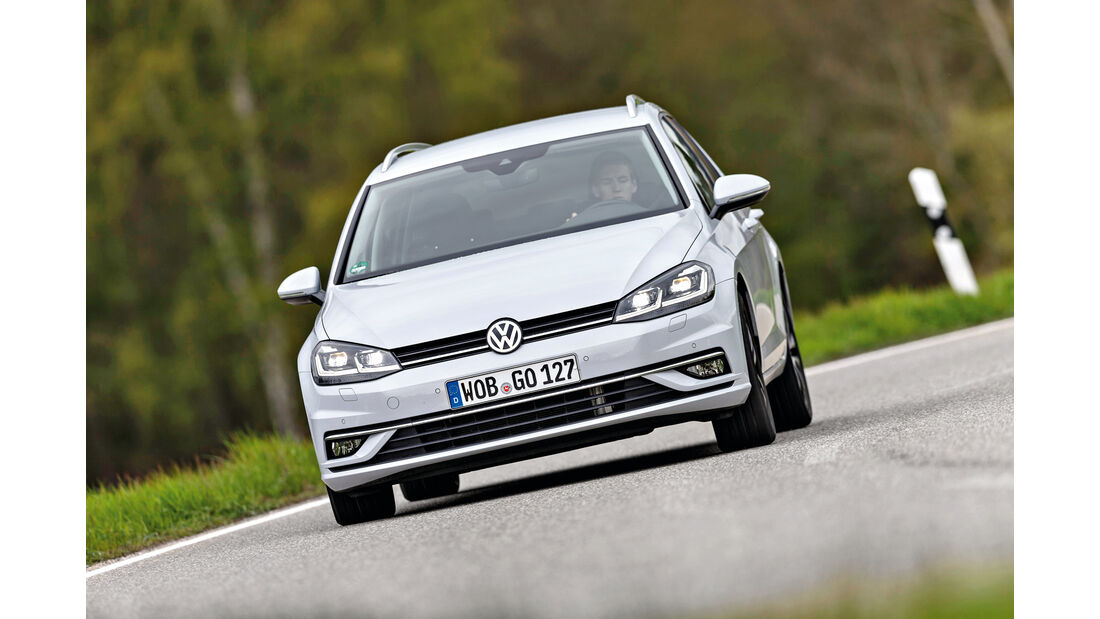 VW Golf Variant 2.0 TDI 4Motion, Frontansicht