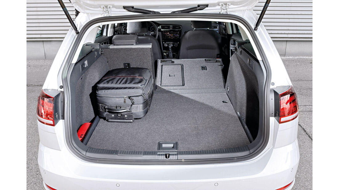 VW Golf Variant 2.0 TDI 4Motion, Kofferraum