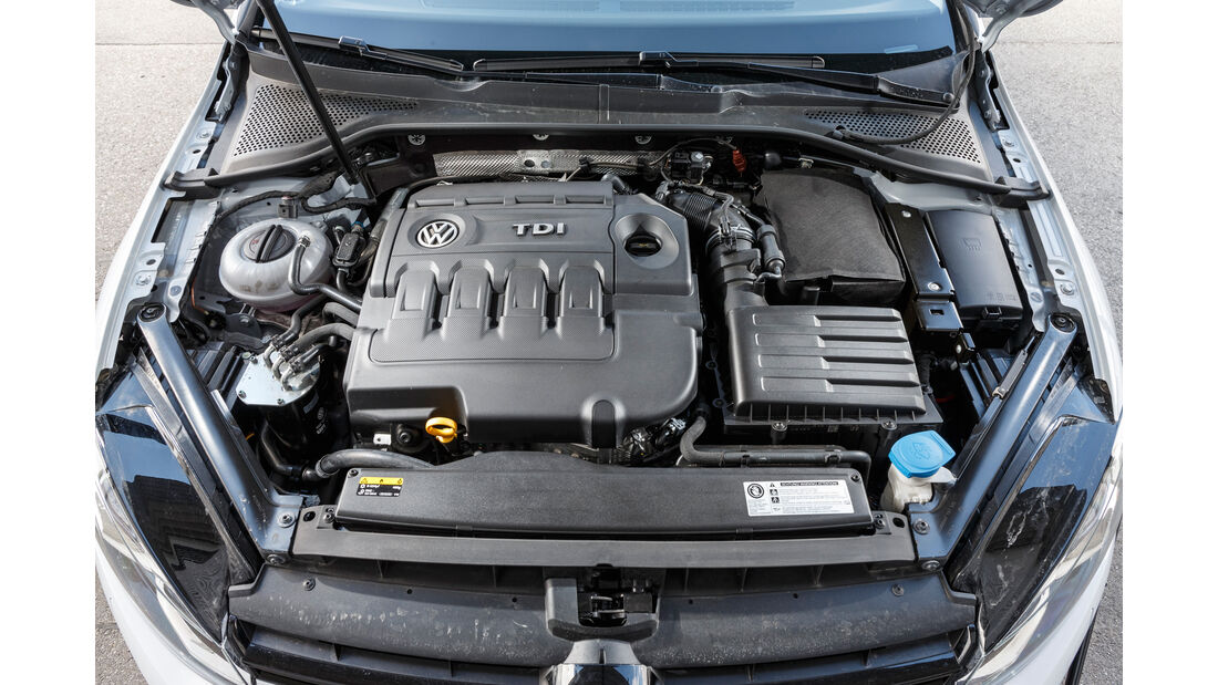 VW Golf Variant 2.0 TDI 4Motion, Motor
