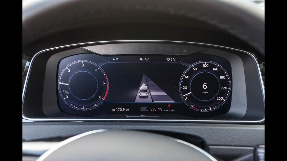 VW Golf Variant 2.0 TDI 4Motion, Rundinstrumente