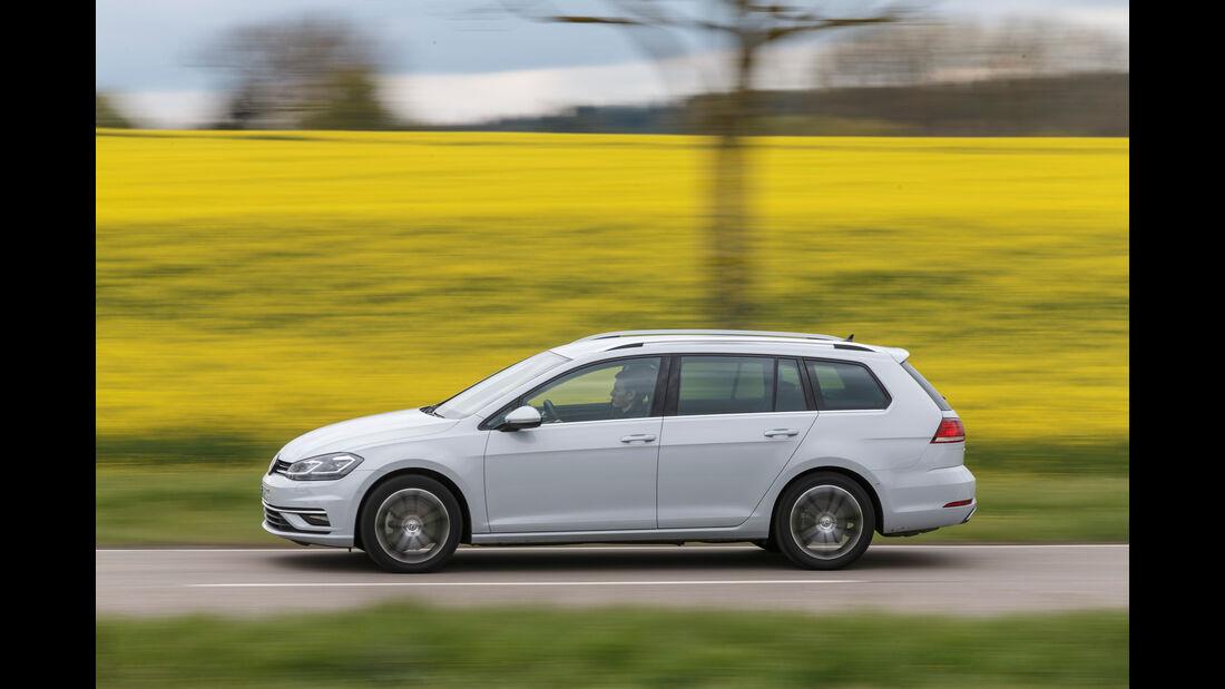 VW Golf Variant 2.0 TDI 4Motion, Seitenansicht