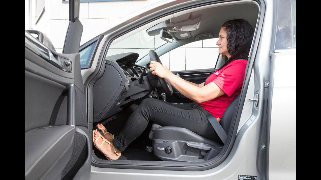 VW Golf Variant 2.0 TDI BMT, Fahrersitz