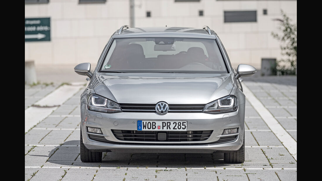 VW Golf Variant 2.0 TDI BMT, Frontansicht