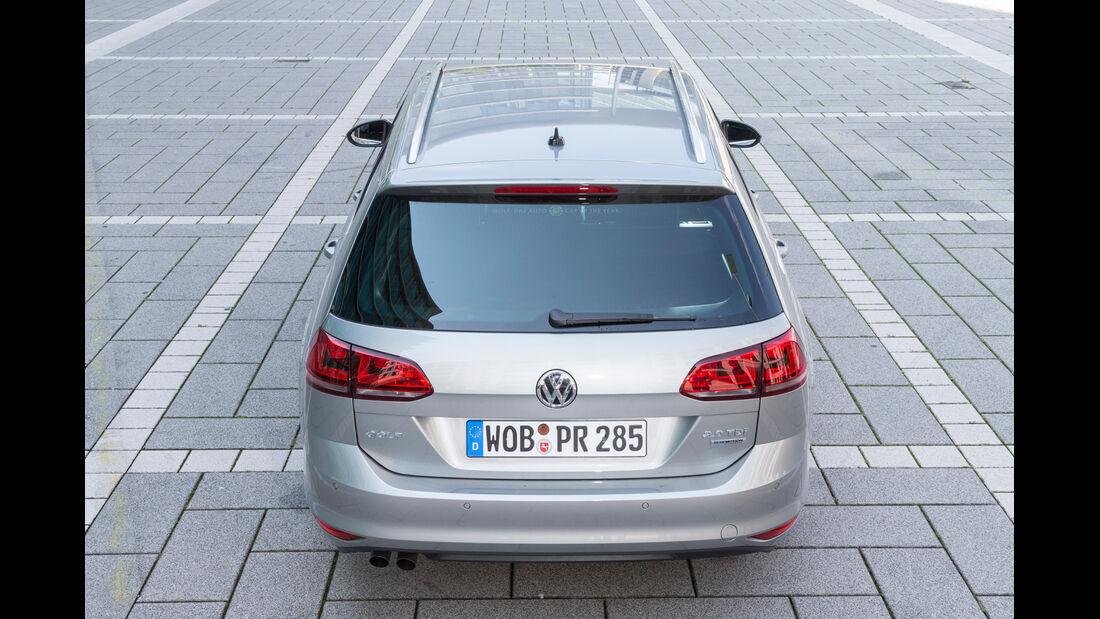 VW Golf Variant 2.0 TDI BMT, Heckansicht