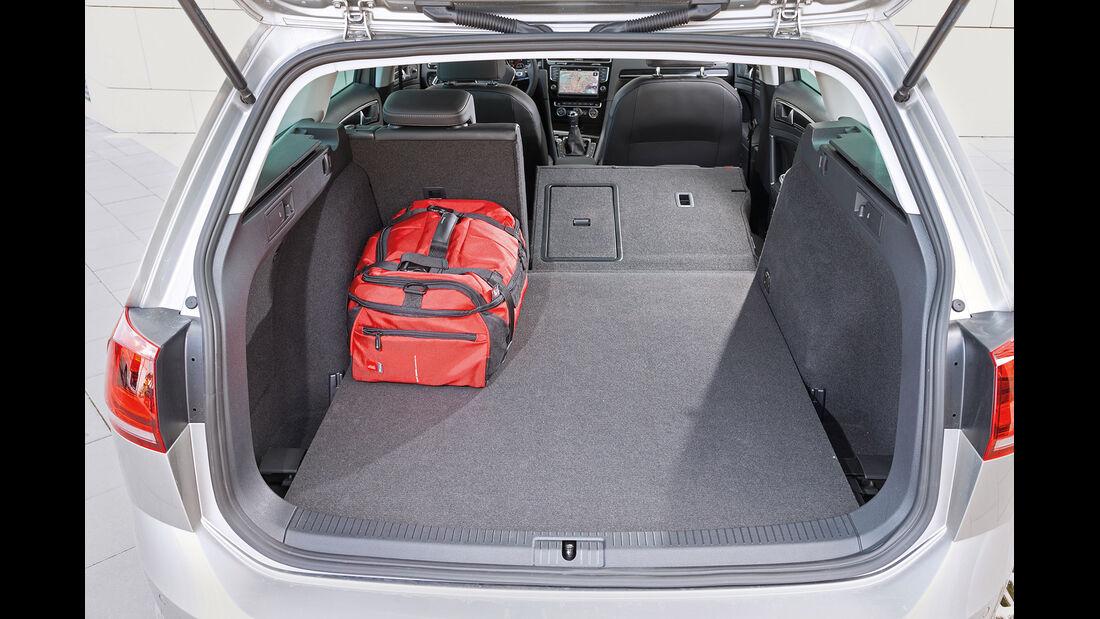 VW Golf Variant 2.0 TDI BMT, Kofferraum