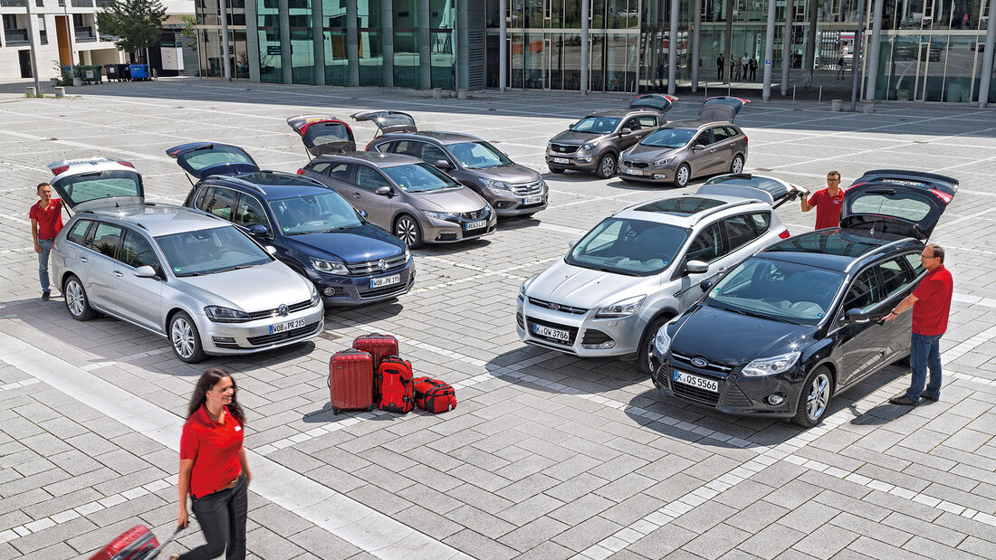 VW Golf Variant 2.0 TDI BMT, VW Tiguan 2.0 TDI BMT
