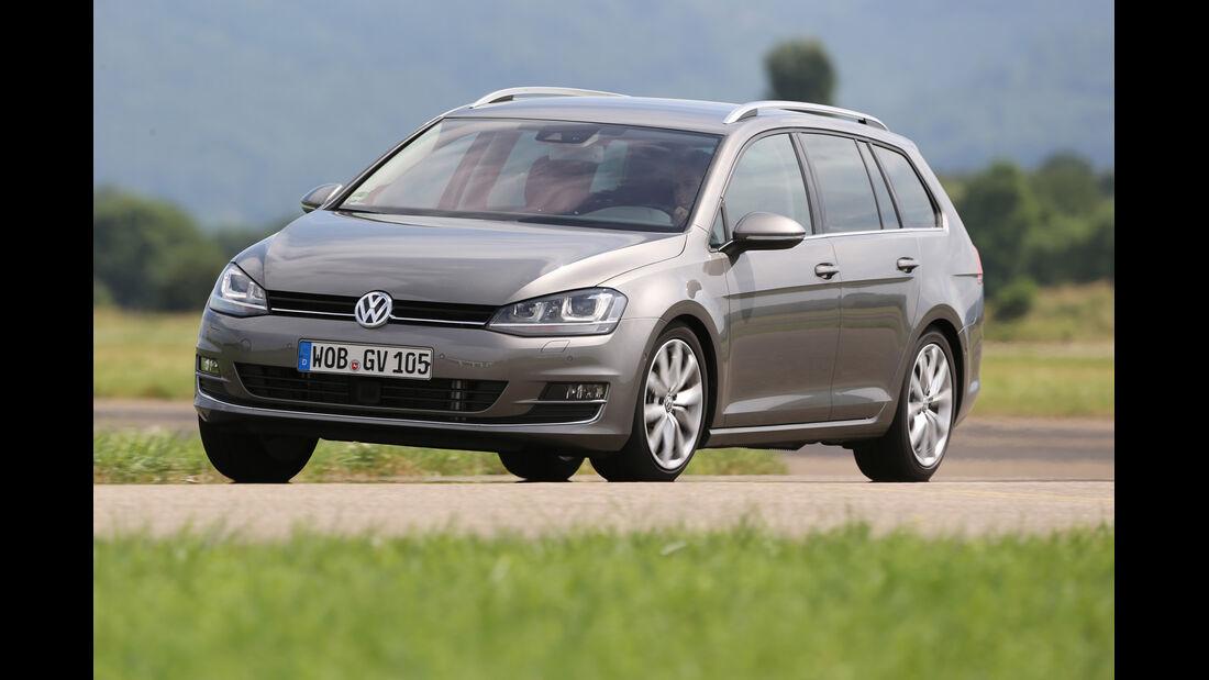 VW Golf Variant 2.0 TDI, Frontansicht