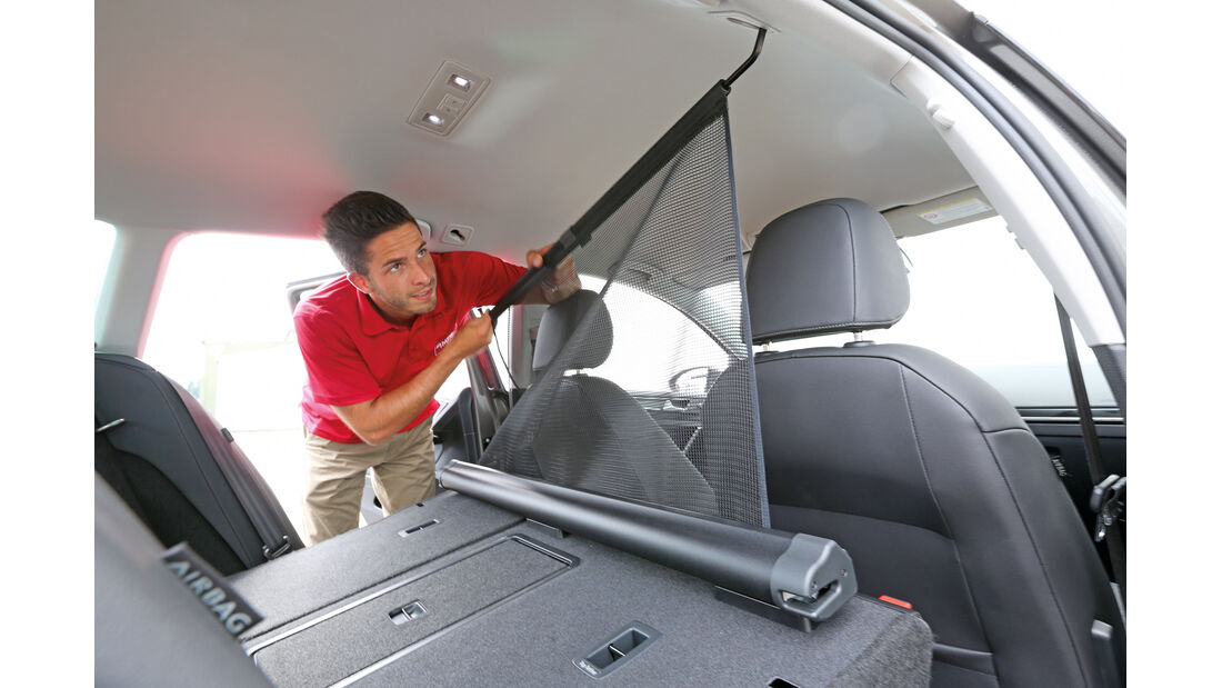 VW Golf Variant 2.0 TDI, Gepäcktrennnetz