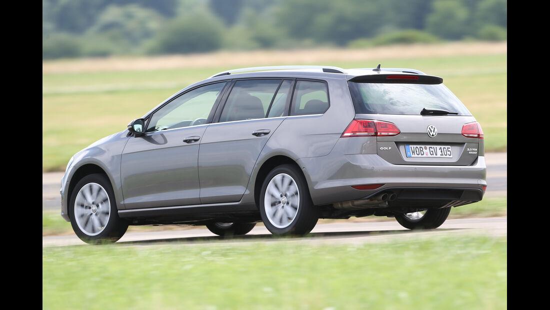 VW Golf Variant 2.0 TDI, Heckansicht
