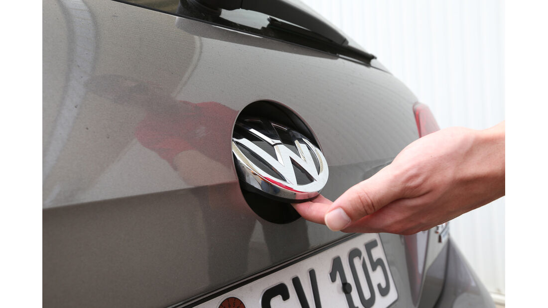 VW Golf Variant 2.0 TDI, Heckklappe, Öffnen