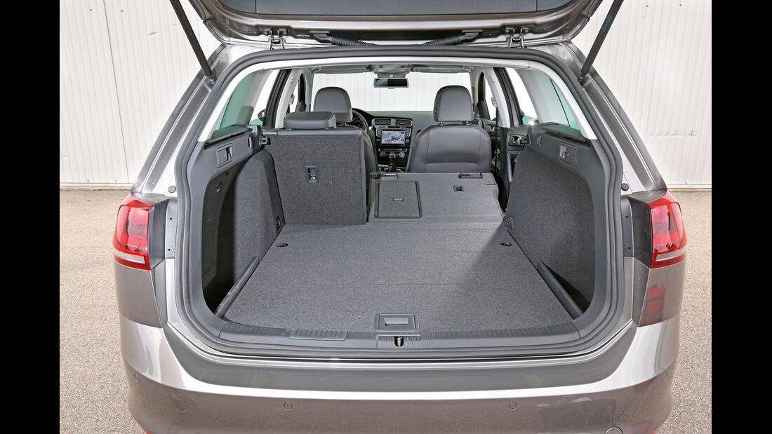 VW Golf Variant 2.0 TDI, Kofferraum, Ladefläche