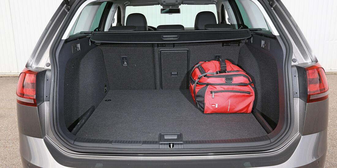 VW Golf Variant 2.0 TDI, Kofferraum