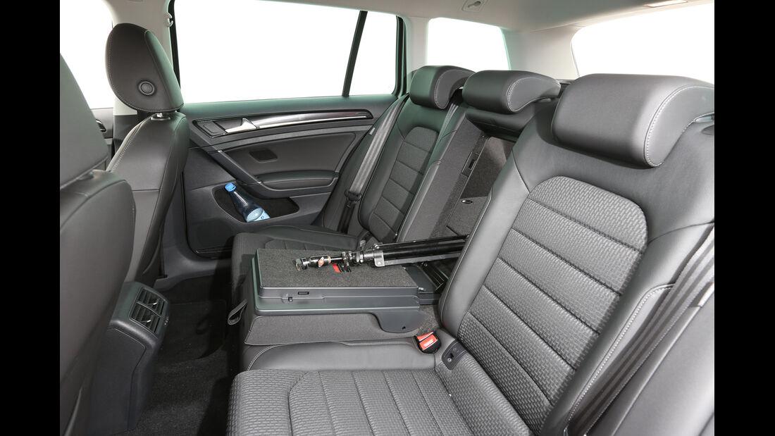 VW Golf Variant 2.0 TDI, Rücksitz