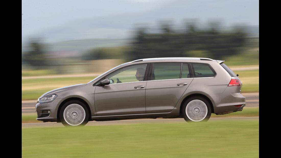 VW Golf Variant 2.0 TDI, Seitenansicht