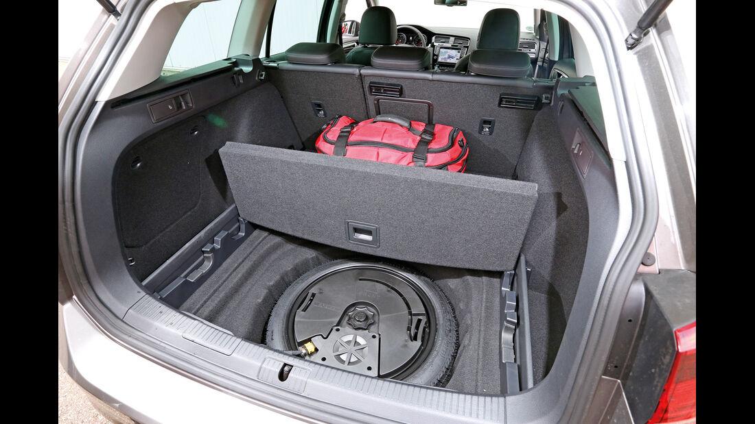 VW Golf Variant 2.0 TDI, Stauraum